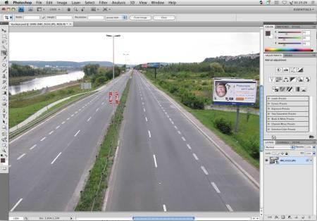 Výsledný efekt - Strakonická ulice bez aut