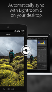 Lightroom mobile for Android