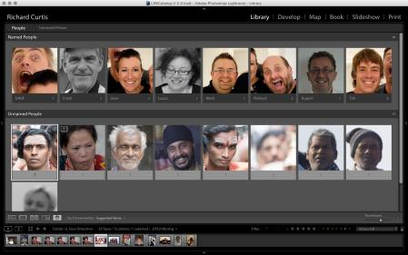 Lightroom 6 rozpoznávání tváří
