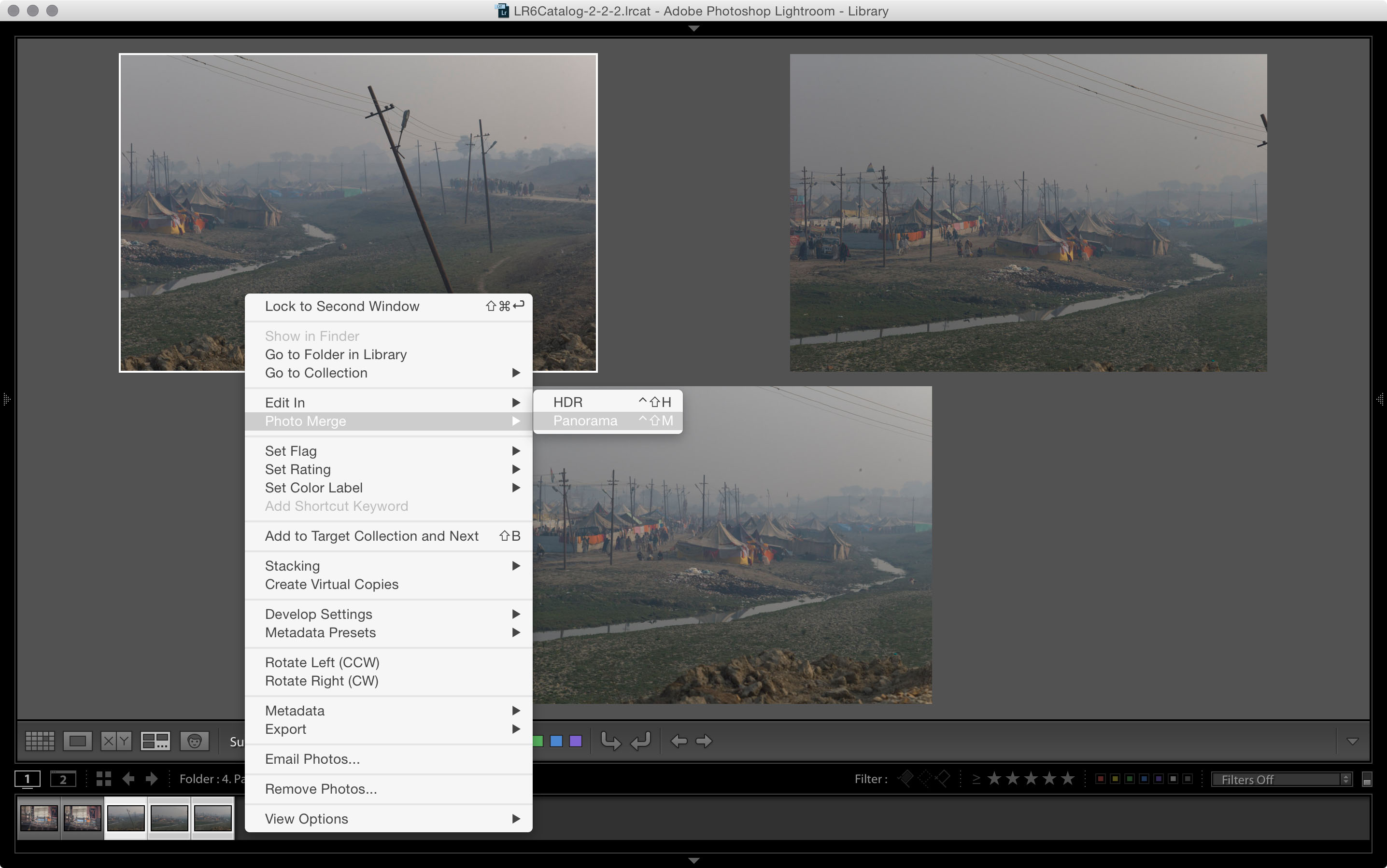 panorama lightroom 5.6